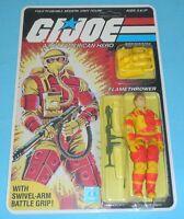 ⭐RECARDED⭐ 1984 GI Joe Blowtorch Figure Complete Sealed ⭐CUSTOM File Card Back⭐