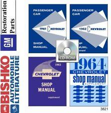 1961 1962 1963 1964 Chevrolet Shop Service Repair Manual CD