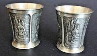 Selangor Pewter 2 inch 5cm high Singapore souvenir pewter shot cup