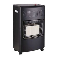 Gas Heater Wheeled Portable Freestanding Calor Cabinet Fire Home Office Butane