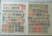 stamps album germany etc. MINT , USED 600+