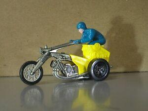 Hot Wheels Redlines Rrrumblers Chopin Chariot Motorcycle Trike RARE Bike & Rider