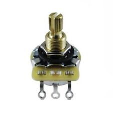Potentiometer - CTS 500k Linear Knurled Shaft, ⅜ in Bushing Length R-VC500KL-SP
