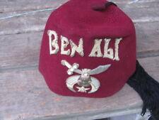 VINTAGE-MASONIC BEN ALI HAT