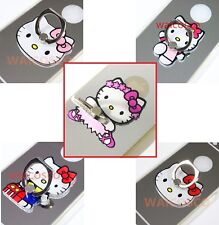 KITTY CAT 360° Finger Grip Metal Ring Stand Holder Mobile Phones Tablet PDA Ipad