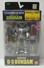 Bandai Gundam Action Figure RX-78-3 G-3 1 Year War in 0079 NIP 2000