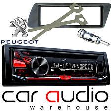 Peugeot 306 Jvc Cd Mp3 Usb Aux Rojo Pantalla Auto estéreo reproductor de radio y Kit de montaje