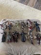 Lot Of 12 mcfarlane action Horror & Spawn figure Lot Loose with Accessories
