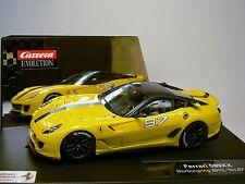 Carrera Evolution 27361 ferrari 599xx nurburgring 2010 nº 97 nuevo