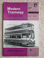 Modern Tramway (and Light Railway Review) - August 1969 (Vol 32, No. 380)