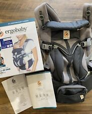 Ergobaby Omni 360 Baby Carrier All-In-One: Cool Air Mesh - Carbon Grey