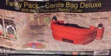 Hamilton Versa-Packs Equine Cantle Bag Brown Deluxe Fanny Pack Bum Bag Nwt
