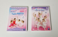 Bella DVD Lets Dance Ballet  and Swan Lake lot of 2