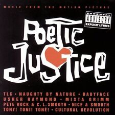Poetic Justice (1993) TLC, Babyface, Terri & Monica, 2Pac.. [CD]