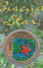 Australia 2007  $1 Ocean Series - BISCUIT STAR - Stunning UNC One Dollar Coin