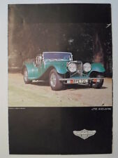 PANTHER J72 ORIG 1970 S SALES BROCHURE-JAGUAR 4.2 o 5.3 V12 Power