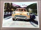 1955 1956 Austin A40 A50 Cambridge Vintage Car Sales Brochure Catalog