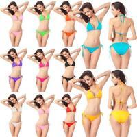 Women Bandage Bikini Set Push-up Bra Swimsuit Bathing Suit Summer Swimwear Bra