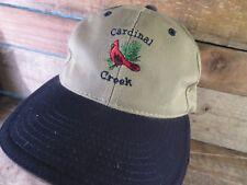 CARDINAL CREEK Adjustable Adult Cap Hat
