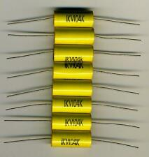 SET OF 8 CAPACITORS POLYPROPYLENE HIGH VOLTAGE 0,1 µF - 1000 V