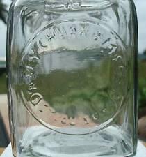Primitive Rustic Classic DAZEY Butter Churn #10 Glass Jar Soap Lotion Dispenser