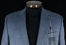 Men's RALPH LAUREN Blue Wool Linen Silk Jacket Blazer 40 L 40L NWT NEW $295+