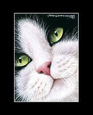 Cat ACEO Print Tuxedo by I Garmashova
