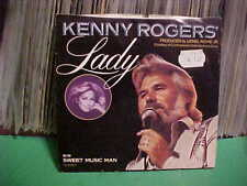 "VINTAGE LIBERTY RECORDS 7"" PICTURE SLEEVE ONLY KENNY ROGERS LADY SWEET MUSIC MAN"