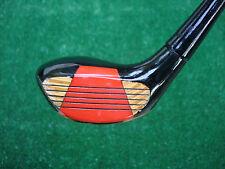 Golf Wilson Staff II 5 Wood Black w/ Red & Wood Grain Face Beautiful Golf Club