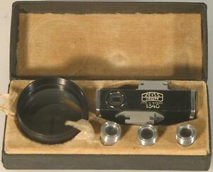 ZEISS IKON CONTAMETER 1340 SET W/ PROXAR 20,30,40 FOR CONTAX