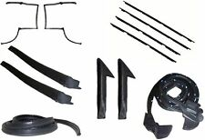 82-92 CAMARO / FIREBIRD T-TOP WEATHERSTRIP COMPLETE KIT, RUBBERS, SEALS, FELTS