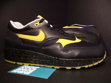 Nike Air Max 1 Premium TZ LAF LIVESTRONG WHITE BLACK MAIZE GREY 372444-071 9.5