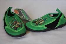 217670082 NEW Toddler Boys Water Shoes Socks TMNT Medium 7 - 8 Ninja Turtles Pool  Beach