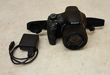Great Used SONY Cyber-Shot DHC-HX300 20.4MP 50x Optical Zoom HD Camera - Black
