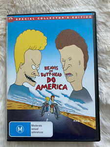 Beavis and Butt-Head Do America DVD - In Like New Condition