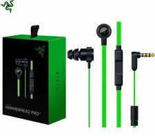 Первоначальный производитель оборудования Razer Hammerhead Pro V2 вкладыши Pc музыкальных игр телефон гарнитура, наушники с микрофоном