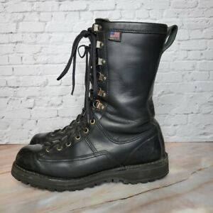 """Danner Fort Lewis 10"""" 200 Gram insulated Police Military Boots Mens Sz 8.5 GTX"""