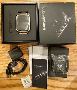 ASUS  ZenWatch Smartwatch 40mm Stainless Steel Silver/Rose Gold/Brown Leather
