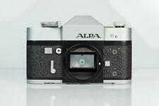ALPA Reflex 11 E camera body SLR 35mm chrome Swiss Camera 11E