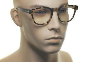 TOM FORD BLUE BLOCK OPTICALS FT5543 056 50mm Mens Large Square Eyeglasses HAVANA