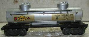 LIONEL 2465 SUNOCO TANK CAR