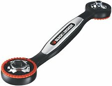 Black & Decker Ratcheting Ready Wrench Great Gift Handy Tool 16 Sizes (SAE & MM)