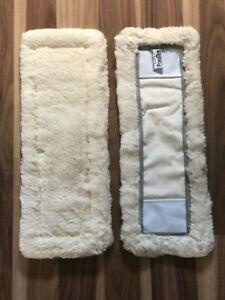 2x Bodenfaser Nassfaser lang 42 cm passend für Ha Ra ,Leifheit reine Baumwolle