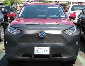 Colgan Front End Mask Bra 2pc. Fits Toyota RAV4 LE,XLE 2019-2020 W/Lic.Plate