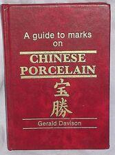 The Guide to Marks on Chinese Ceramics Gerald Davison Handbook Mini 1987 1991