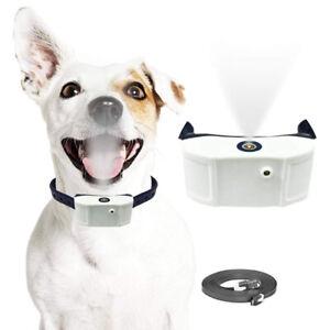 Stop Barking Citronella Dog Collar Anti Bark Mist Spray Controller Rechargeable