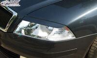 RDX Scheinwerferblenden SKODA Octavia 2 / 1Z Böser Blick Blenden Spoiler Tuning