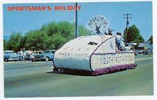 OR, Sweet Home. SPORTSMAN'S HOLIDAY Celebration Parade. Chrome Postcard