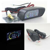 12V/24V LCD Digital Water Temperature Gauge Voltmeter Voltage Meter for Car