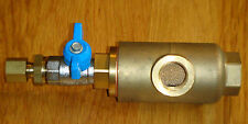 In line 3-way compressed air filter 3/8 bsp